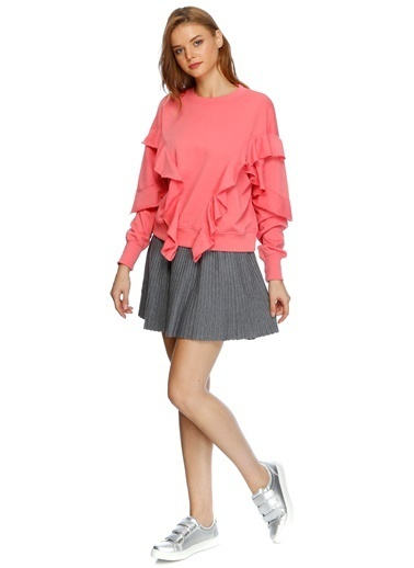 Missguided Sweatshirt Pembe